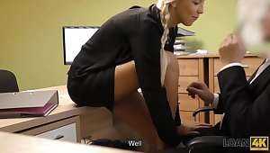 Coitus casting is performed in loan office