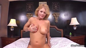 49 Year Old Slutty Dirty Talking Mommy Bambie