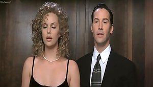 Rub-down the Devil's Advocate (1997) Charlize Theron